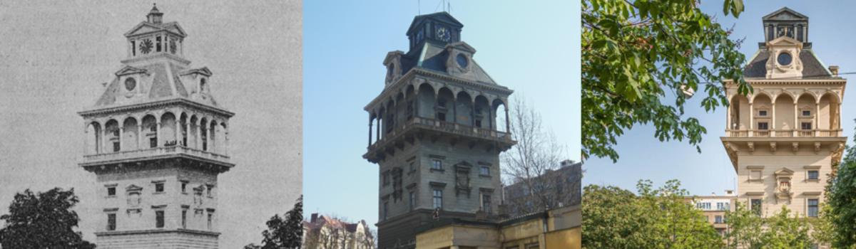 Vodárenská věž na Letné je Interiérem roku