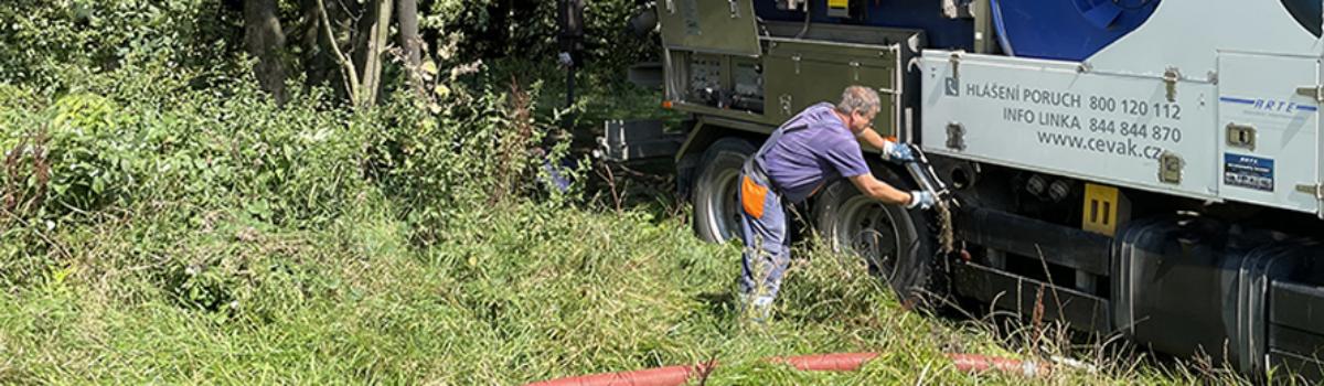 Vodohospodáři vyčistili pramen řeky Jihlavy u Pelhřimova